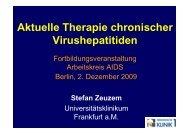 Therapie HBV und HCV-2009-AK AIDS-Berlin
