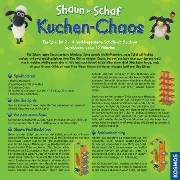 Ein Spiel für 2 – 4 backbegeisterte Schafe ab 5 Jahren Spieldauer ...