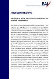 2006-07-05 - BAI-Pressemitteilung_Expert-Group