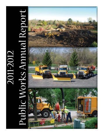 2011-2012 PW Annual Report.indd - Village of Gurnee