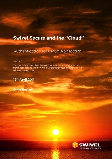 Cloud - Swivel Secure