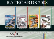 RATECARDS 2008