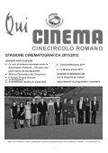 C R I T I C A • C U L T U R A • C I N E M A - Cine Circolo Romano - Page 3