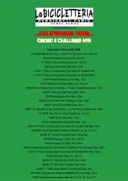 Calendario 2010__ Circuiti e Challenge Mtb - La Bicicletteria, Acqui ...