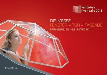 Nuremberg, Germany 24 – 27.3.2010 - fensterbau/frontale