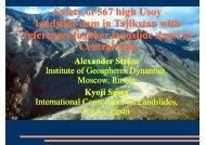 A. STROM: Safety of 567 High Usoy landslide ... - Nexus-idrim.net