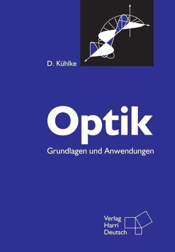 Inhaltsverzeichnis, Vorwort, Probeseiten - Verlag Harri Deutsch