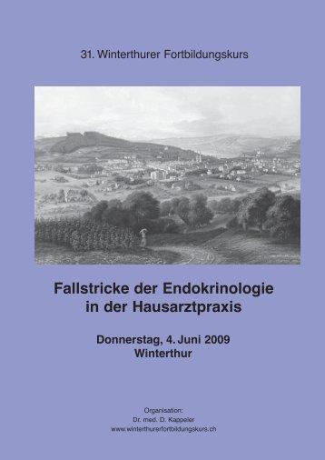 Fallstricke der Endokrinologie in der Hausarztpraxis - Winterthurer ...