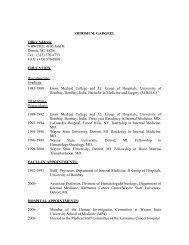 shirish m. gadgeel - Division of Hematology/Oncology - Wayne State ...