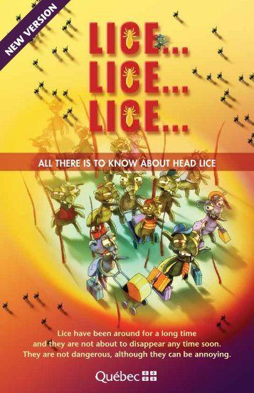 Lice... Lice... Lice... All there is to know about head lice