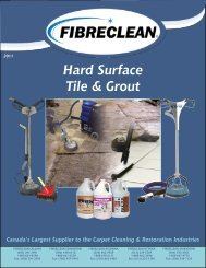 Hard Surface Tile & Grout Canada's Largest Supplier to ... - Fibreclean