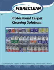 Professional Carpet Cleaning Solutions - Fibreclean