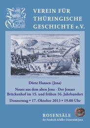 Dörte Hansen (Jena) - Verein für Thüringische Geschichte