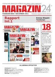 Textdesigner is Redaktör at Magazin24 - Zoomin - Mälardalens ...