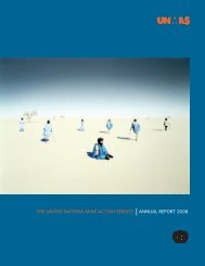 Annual Report 2008 - United Nations Mine Action Centre