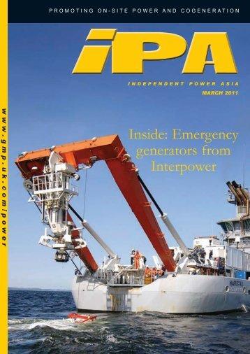 Inside: Emergency generators from Interpower - Global Media ...