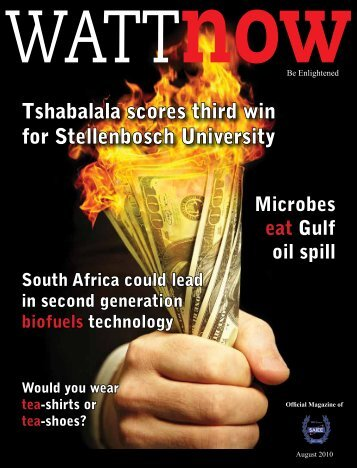 download a PDF of the full August 2010 issue - Watt Now Magazine