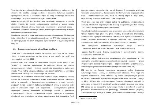 tekst mgr inż. arch. Dagmary Milczyńskiej - Hajdy - Lublin