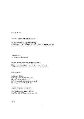 Gustav Ammann - johannesstoffler.ch