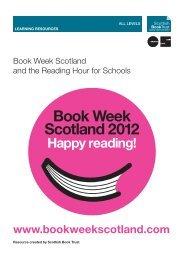 Book Week Scotland for Schools resource - PDF - Scottish Book Trust