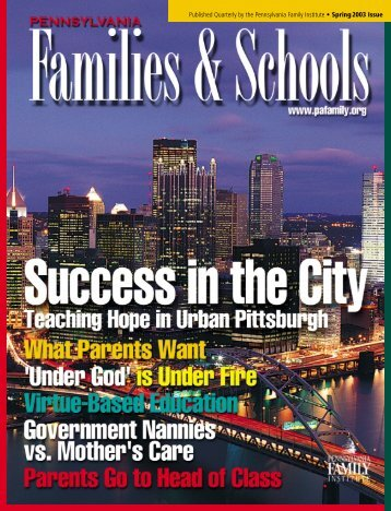 SEX AND THE CITY - Pennsylvania Family Institute