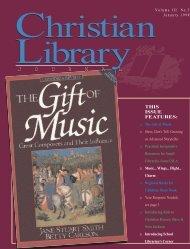 J O U R N A L J O U R N A L - Christian Library Journal