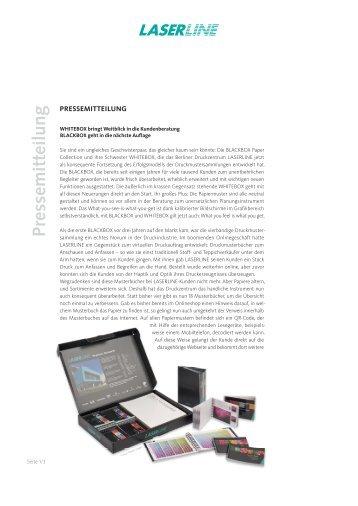 Pressemitteilung - Laserline