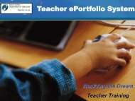 What are the Teacher Requirements? - Pickens Instructional ...