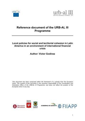"""""""Este documento ha sido elaborado en el marco ... - Portal URB-AL III"""