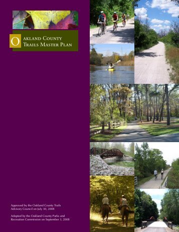 Oakland County Trails Master Plan - Paint Creek Trail