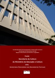 Sec Cult final set 2013 - Arquivo Nacional