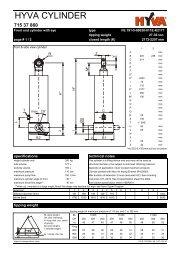 HYVA 71537860 - FE 191-5-09030-011E-K2177 - dominga.lt