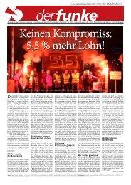 Die Sondernummer zum Metaller-Streik zum Download ... - Der Funke