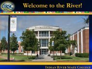 New International Student Orientation - Indian River State College
