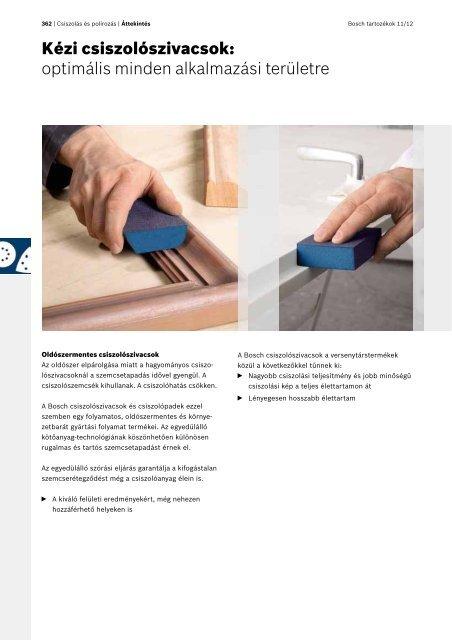 Csiszolás és polirozás - Bosch