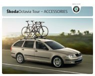 ŠkodaOctavia Tour – ACCESSORIES