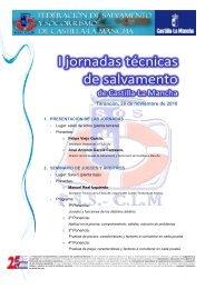 programa definitivo - Federación de Salvamento y Socorrismo de ...
