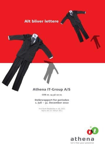 First North Meddelelse nr. 60-2011 - Athena