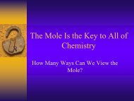 The Mole PowerPoint