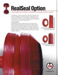RealSeal® Option - T.D. Williamson, Inc.