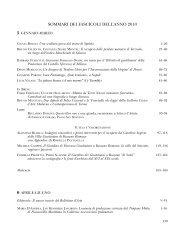 Sommari e indice degli autori anno 2010.qxp - Bollettino d'Arte