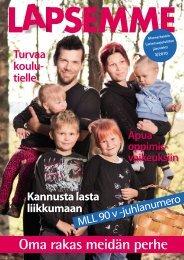 Lapsemme 3/2010 - Mannerheimin Lastensuojeluliitto