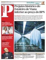 leia o dossier na íntegra - Associação dos Portos de Portugal