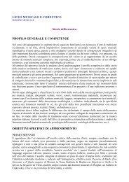 Storia della Musica_sez.musicale - Conservatorio di musica ...