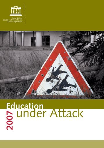 Education Under Attack - UNESCO Islamabad