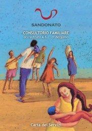 Carta dei Servizi CONSULTORIO FAMILIARE - Sandonatosoc.it