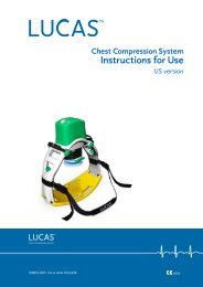 LUCAS Chest Compression System Instructions for ... - Physio-Control