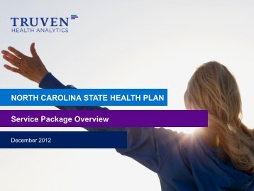 NORTH CAROLINA STATE HEALTH PLAN Service Package ...