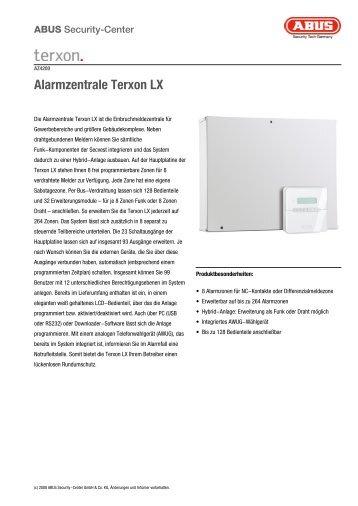 Alarmzentrale Terxon LX - ALARME DIRECT
