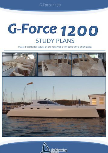 G-Force 1200 Study Plans - Schionning Designs
